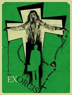 """johnny-dynamo: """"The Exorcist by Andy Camp """" Best Horror Movies, Classic Horror Movies, Horror Show, Horror Films, Scary Movies, Horror Movie Posters, Cinema Posters, Movie Poster Art, Concert Posters"""