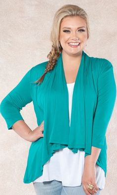 The most versatile cardigan you will ever own!  This bestselling cardigan is easy-to-wear and perfect for any season or occasion. Throw it over a tee, cami or tunic to add instant polish to your outfit. Layer it over a dress for coverage! $39