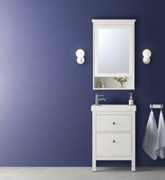 HEMNES toilettafel met spiegel   #IKEAcatalogus #nieuw #2017 #IKEA ...
