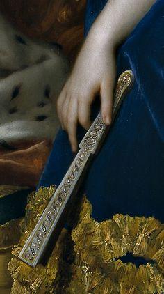 ~Anton Raphael Mengs- Maria Josepha of Austria (details). 1767 | The House of Beccaria~
