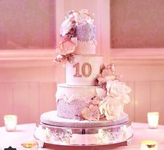 Amazing girly cake