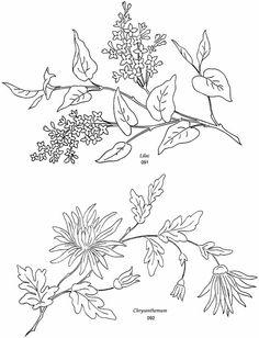 Briggs' Floral Embroidery Designs