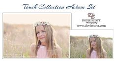 ****ON SALE*** 33 Photoshop Actions ELEMENTS Touch by DovieScottPhoto, $23.99