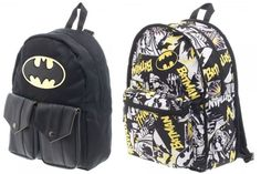 bcf1ea32e9 DC COMICS BATMAN LOGO REVERSIBLE BACKPACK BOOKBAG COMIC COSPLAY SUBLIMATED   DCComics  Backpack