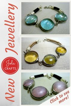 Handmade Glass Jewellery // Glass Jewelry // Bracelets // New Items! Click to see more!