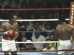Ray Leonard vs Thomas Hearns: Round 14 KO.