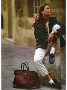 Bez çanta: ne ve ne giymek