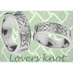 Celtic Lover S Knot Wedding Rings Bryn Unique With Meaning