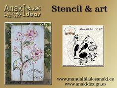 Otra magnifica plantilla, C1387 ya disponible en nuestras webs. http://anaki.manualidadesanaki.es/es/plantillas-estarcido-30x40/2253-stencil-art.html para profesionales y en http://manualidadesanaki.es/es/plantillas-estarcido-30x40/3808-stencil-art.html para particulares.