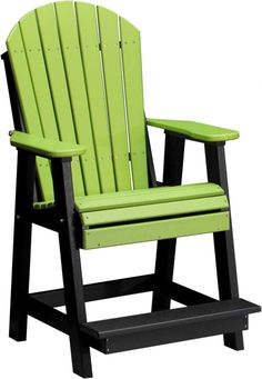 Luxury Balcony Height Adirondack Chair