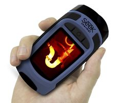 View beyond what your eyes can see with the Seek Reveal Handheld Thermal Imager and Spotlight. With a viewing range, this thermal imager delivers 36 Grad, Barrel, Spotlight, Android, Iphone, Building Renovation, Flashlight, Save Energy, Windows
