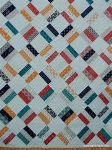 Oasis Jelly Roll Quilt Pattern by SherriQuilts - Craftsy