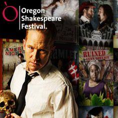 Oregon Shakespeare Festival in Ashland, OR.  I have a Hamlet poster with this actor in my office.
