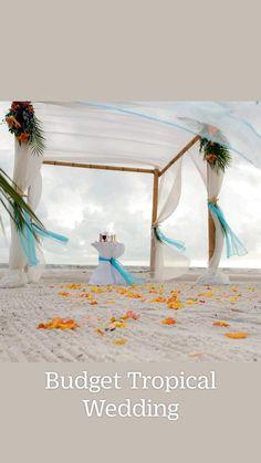Beach Ceremony, Florida Beaches, Ceremony Decorations, Budgeting, Tropical, Beach Weddings, Wedding Ideas, Design, Weddings At The Beach
