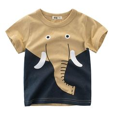 21d87951a8d Boys T Shirts Spring 2018 Girl Short Sleeve T Shirt Cartoon Little Girls  Tops Summer Boy T Shirt O-neck Cotton Toddler Tshirts - Best Kids Clothing  Stores ...