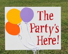 So Cute Parties: Balloon Party