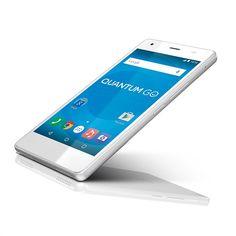 Smartphone Quantum GO Frozen White