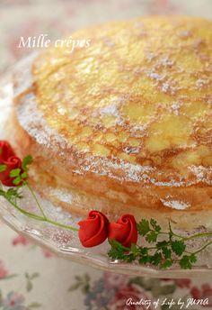 チーズクリーム&フルーツのミルクレープ