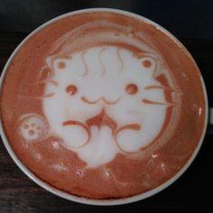 kitty cat cafe latte