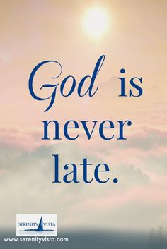 Serenity Vista Addiction Recovery Retreat Panama: God is Never Late
