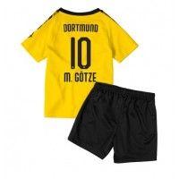 Borussia Dortmund Mario Gotze #10 Replica Home Baby Kit 2019-20(+ Short pants) Short Sleeve