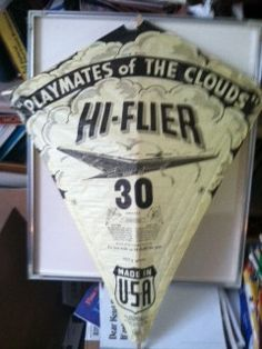 Vintage Hi Flier Paper Kite Reserved For Hcdekarske