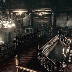 The scariest mansion of all time. #gamescreenshot #playing #residentevil #residentevil1 #spencermansion #horrorgames #ps4