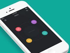 Life minimal app [GIF]