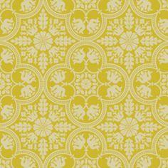 Joel Dewberry - Notting Hill - Historic Tile in Citron