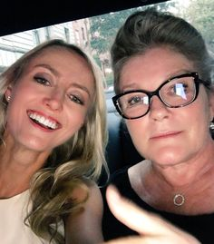 Kate Mulgrew & Amy Rutberg 9/13/17 NYC