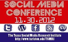 TSMRI: Social Media Conference on Nov 30, 2012.  Find out how to register & submit!