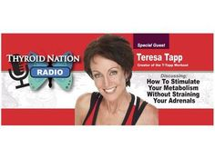 How To Exercise And Stimulate Your Metabolism Without Straining Your Adrenals Join myself, Danna and co-host, Tiffany Mladinich as we talk with special guest exercise physiologist, author and founder of www.T-Tapp.com, Teresa Tapp. We'll be discussing: Fitness doesn't have to kill you (especially when you suffer with Thyroid Disease) Why some exercise is exhausting Detox and lymphatic system for anyone with hormonal imbalances How to fit fitness into your day Get up and move without h...
