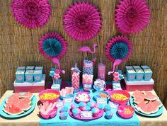 Flamingo Pool Party #flamingo #poolparty