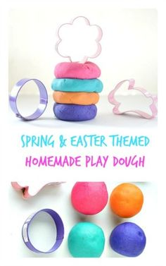 Spring & Easter playdough