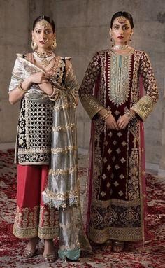 Pakistani Formal Dresses, Shadi Dresses, Pakistani Wedding Dresses, Pakistani Dress Design, Pakistani Outfits, Indian Bridal Outfits, Indian Designer Outfits, Pakistani Fashion Party Wear, Indian Fashion