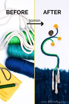 DIY Wanddeko im Fiber Rainbow Stil selber machen | Filizity.com | DIY-Blog aus dem Rheinland #fiberrainbow #rainbow #regenbogen #wolle #frühling Diy Mode, Diy Upcycling, Ancient Beauty, Diy Blog, Kids Rugs, My Love, Decorating Ideas, Interior, Illustration