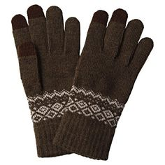 How cool is this - touchscreen gloves. Winter Accessories