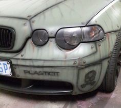 AIRBRUSHING PLASTIDIP ONTO AN ALREADY DIPPED CAR.  BY PLASTICIT