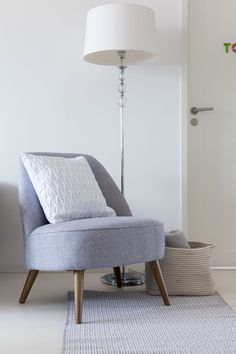 Fortuna Armchair | Pentik | Grey Fortuna armchair invites you to enjoy yourself.