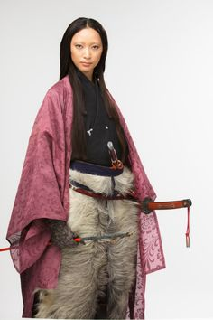 Hōjō Masako as played by Anne Watanabe