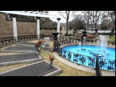 A Christmas Message from Meditation Garden at Graceland - YouTube