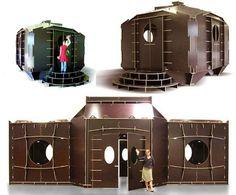 Flat Pack House Design