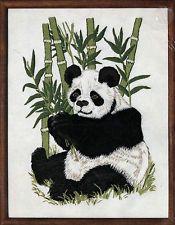 "Linda K. Powell Dimensions Crewel Embroidery Kit~Panda Bear~14""x18"" Factory Seal"