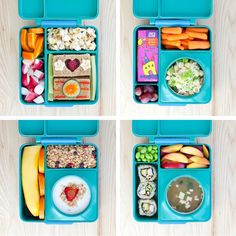 Rock your kids' school lunch with these 6 updated Bento Box styles.