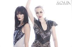 LOIS sequin dress and PROSPERITY contrast dress #AGAIN