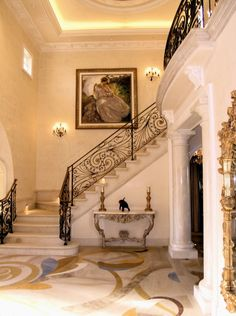 #beautiful #traditional #halls #staircases #stairs