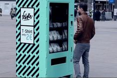 T-Shirt 'Vending Machine' Reveals Shocking Truth About Cheap Clothing - Print (video) - Creativity Online
