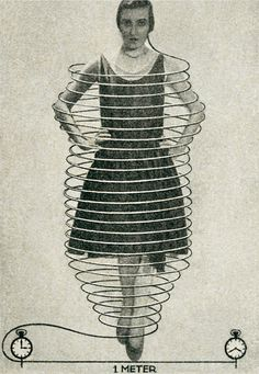 Fritz Kahn - Daily hair growth (1929)  The human body produces 100 feet of hair substance every day. If all this growth were to converge into one single hair, that hair would grow by 40 inches every 40 minutes.