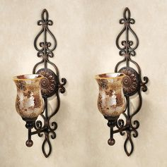 Candle Holder Wall Decor venetian wall candle holder | products, venetian and wall candle
