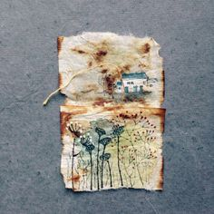 363 days of tea. Day 142. #recycled #teabag #art